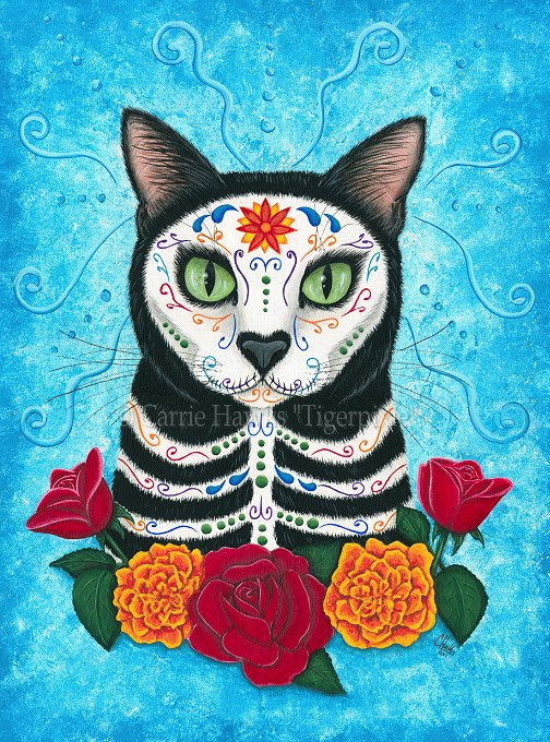 Day of the dead cat.
