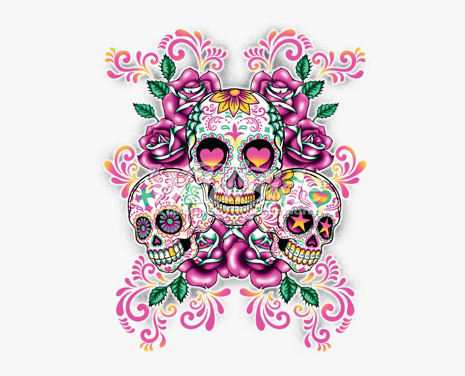 Skull Clipart Sugar Skull.