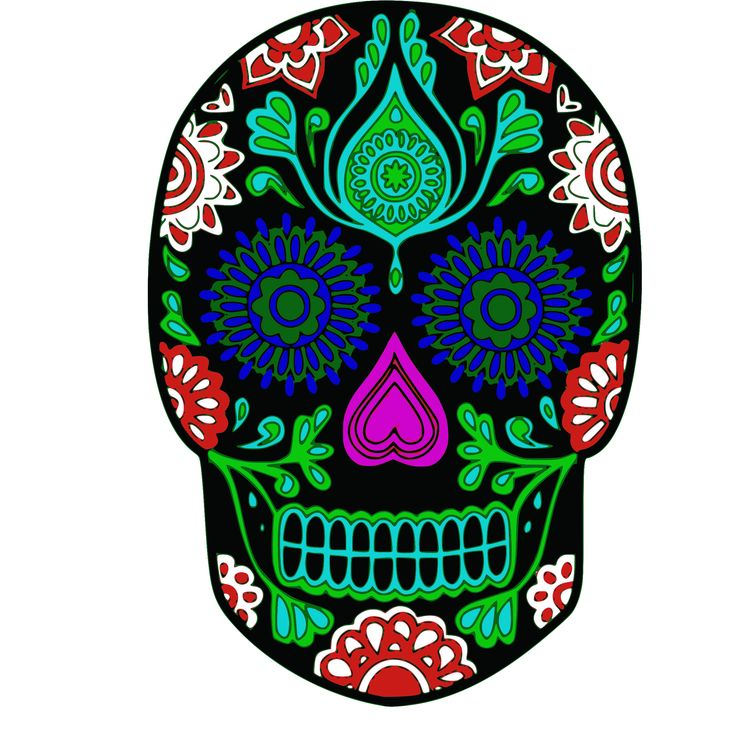 Sugar skull clipart print 20 free cliparts download images on clipground 2019 - Sugar skull images pinterest ...