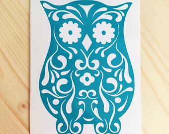 Sugar skull owl.