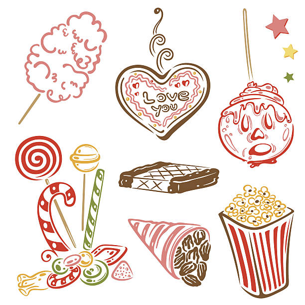 Sugared Almond Clip Art, Vector Images & Illustrations.