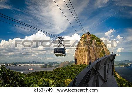 Stock Photography of Sugarloaf Mountain k15377491.