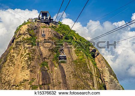 Stock Photo of Sugarloaf Mountain k15376632.