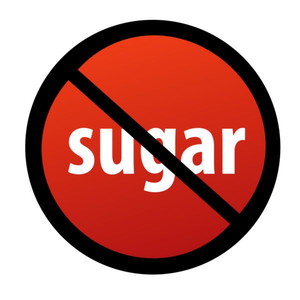 No sugary treats clipart.