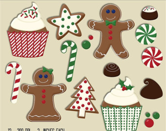 Sugar cookie clipart.