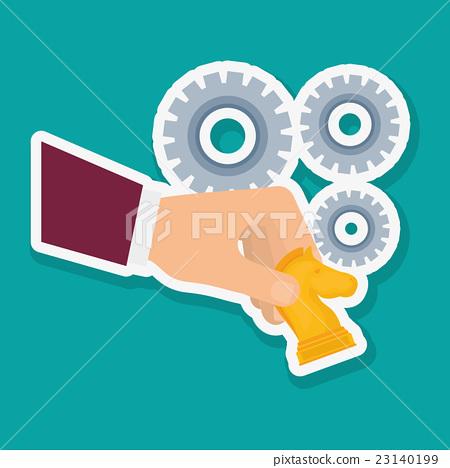 Solutions vector illustration.