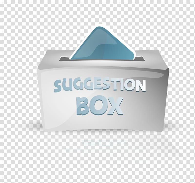 Suggestion box Form, box transparent background PNG clipart.