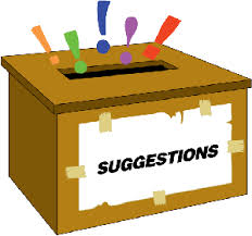 Clipart suggestion box.