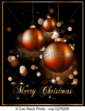 EPS Vectors of Suggestive Elegant Christmas Backgrounds with.