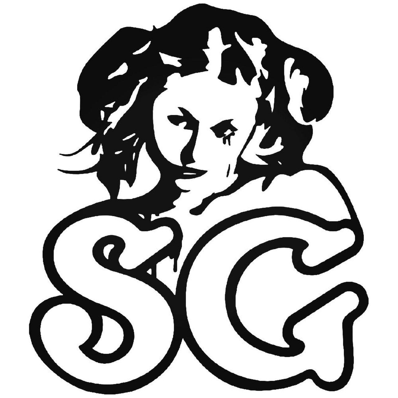 Suicide Girls Logo Vinyl Decal Sticker.