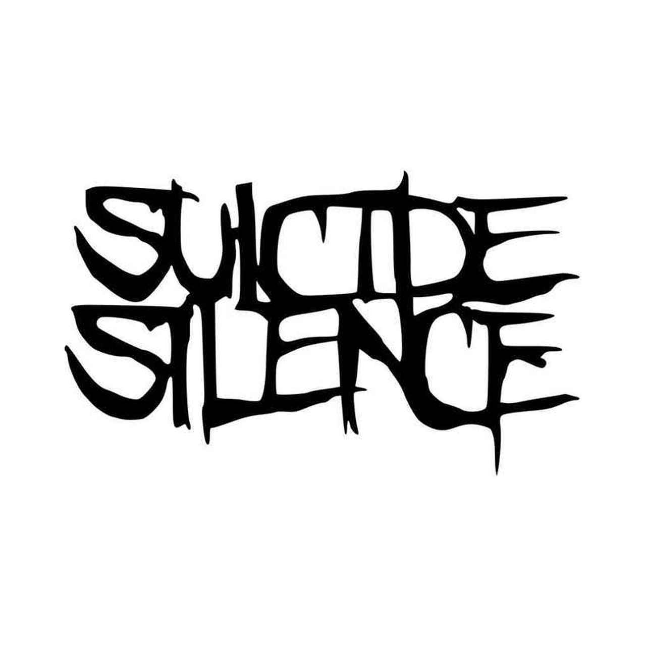 Suicide Silence Logo Vinyl Decal Sticker.
