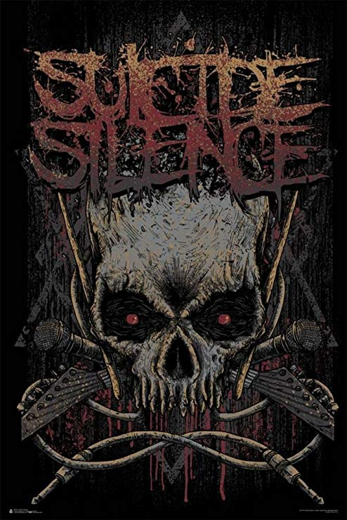 Amazon.com: Suicide Silence Logo Music Cool Wall Decor Art.