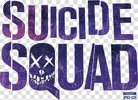 Suicide Squad text, Suicide Squad Logo transparent.