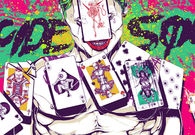 Sweet Suicide Squad Poster from Mondo (CS Exclusive).