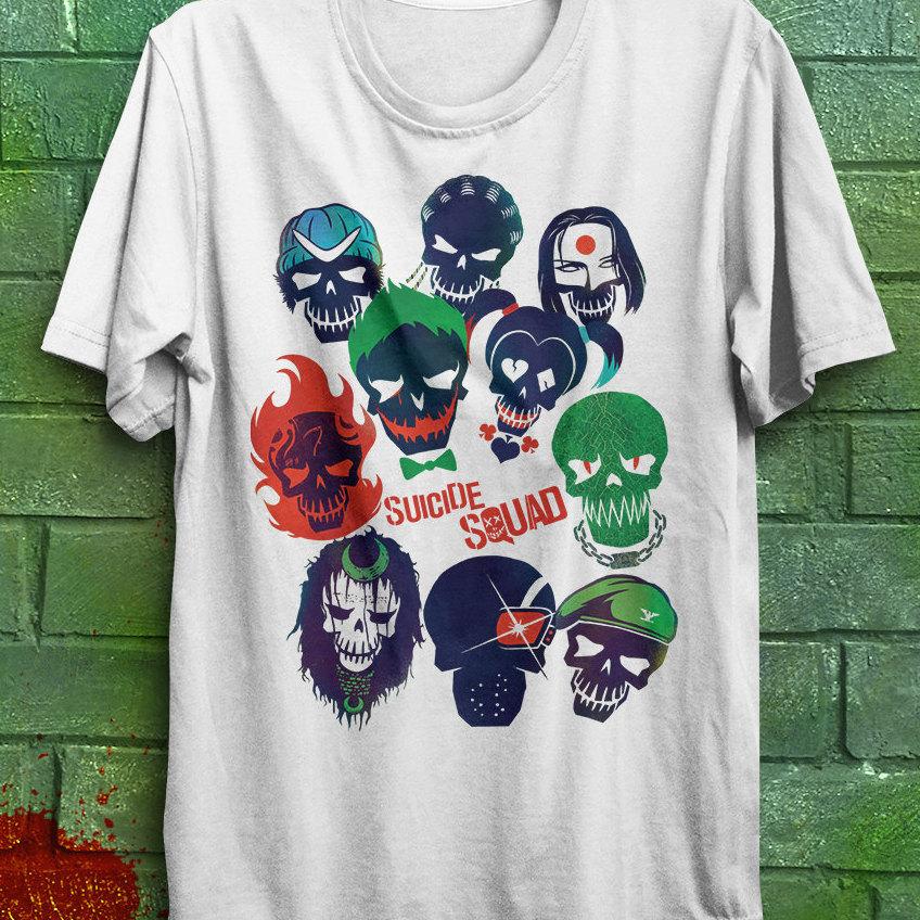 Suicide squad shirt Suicide squad t.