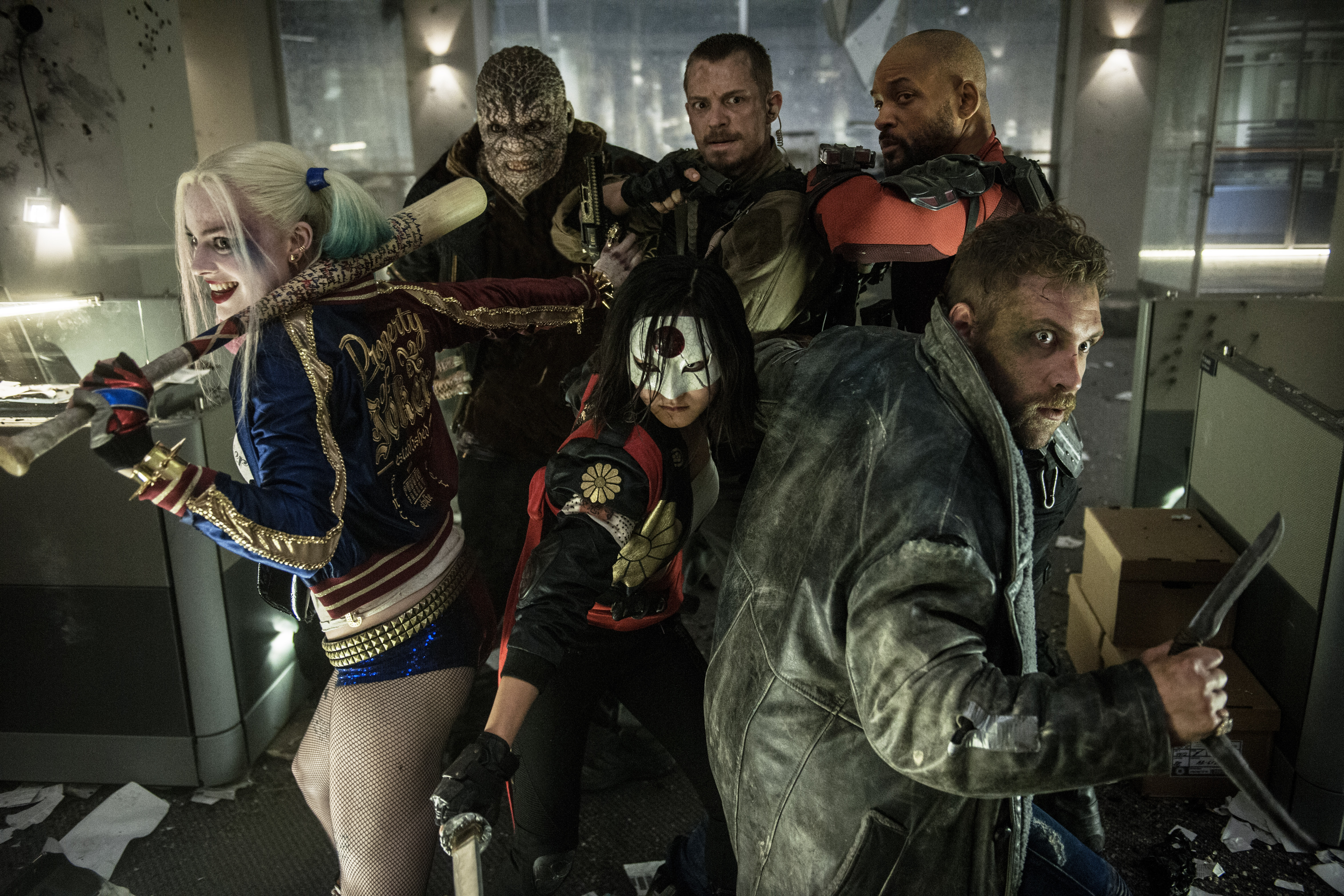 Here's the Suicide Squad Teaser That Just Rocked Comic.