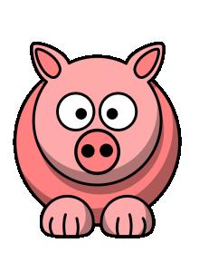Pig Cartoon Clip Art Download.