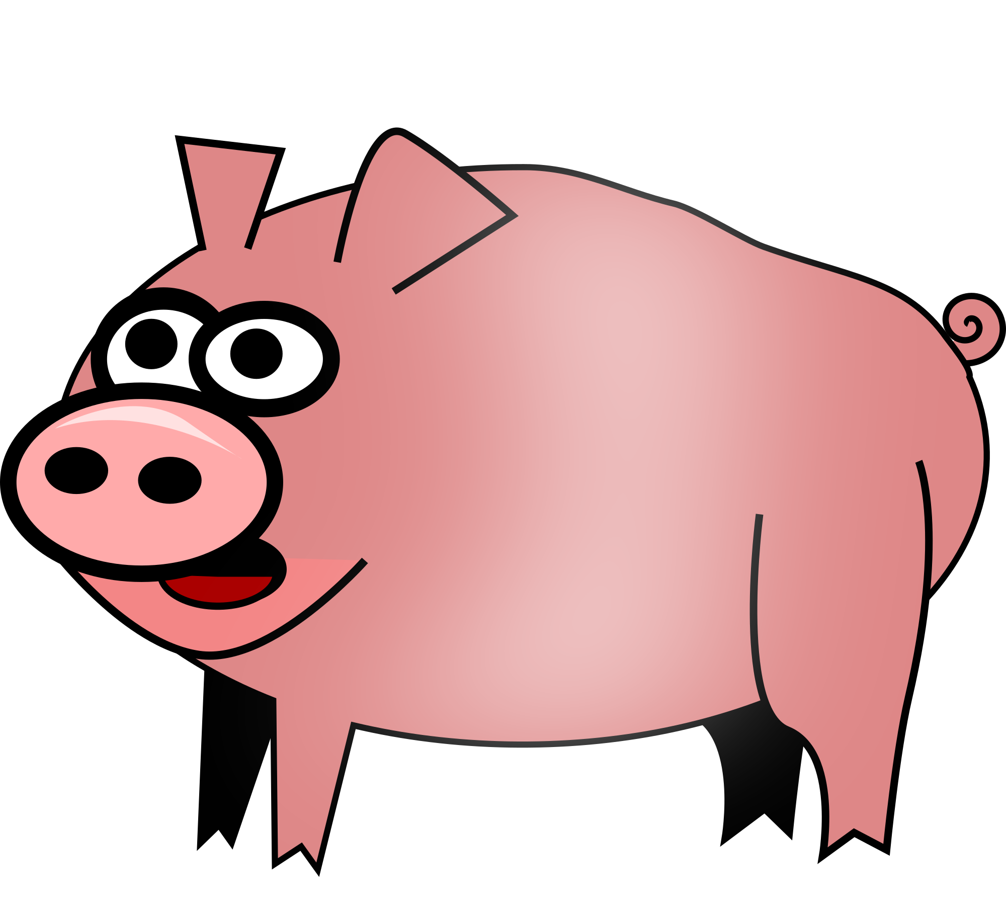 Pig clipart pig animal clip art downloadclipart org.