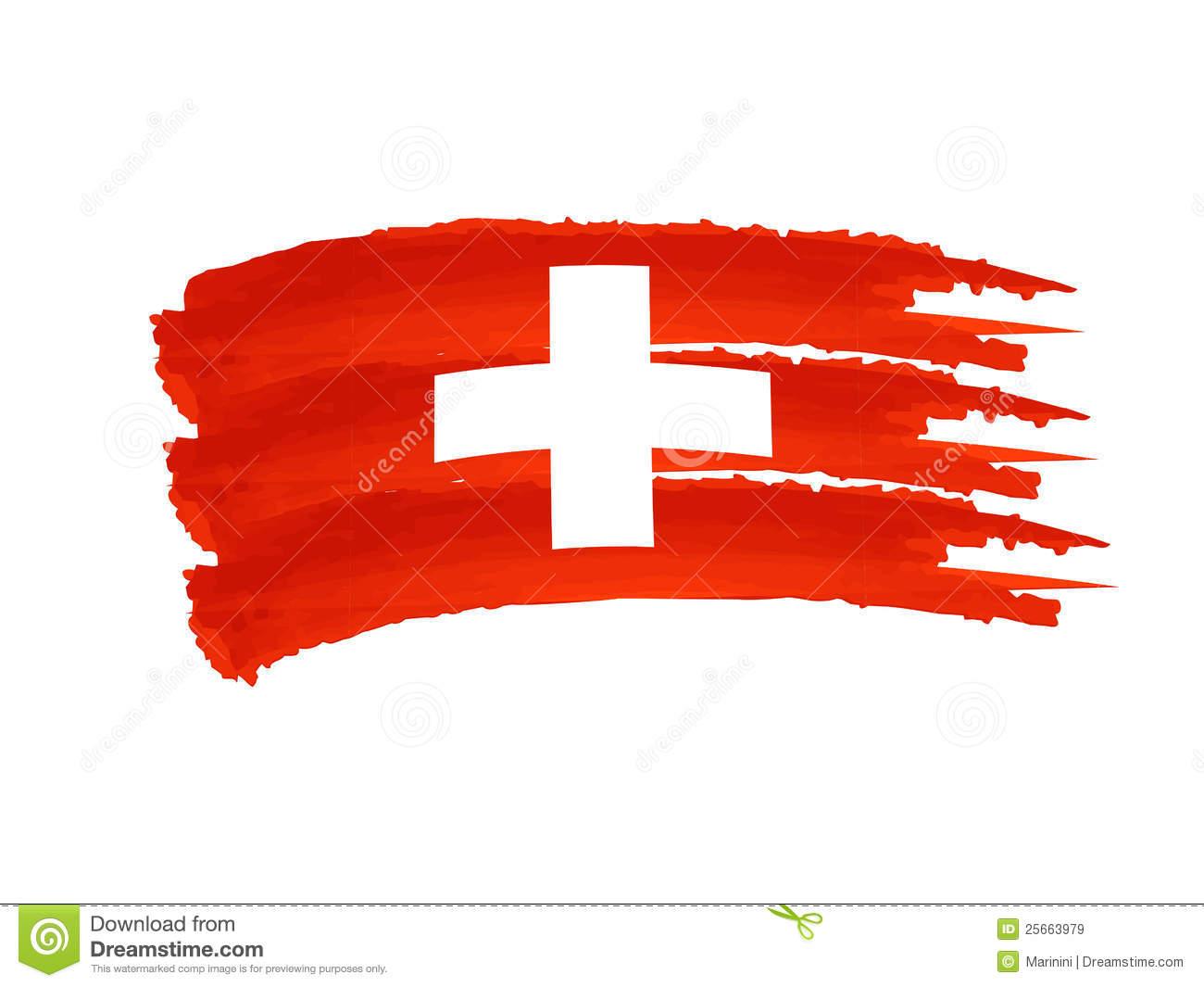 Swiss Stock Illustrations.