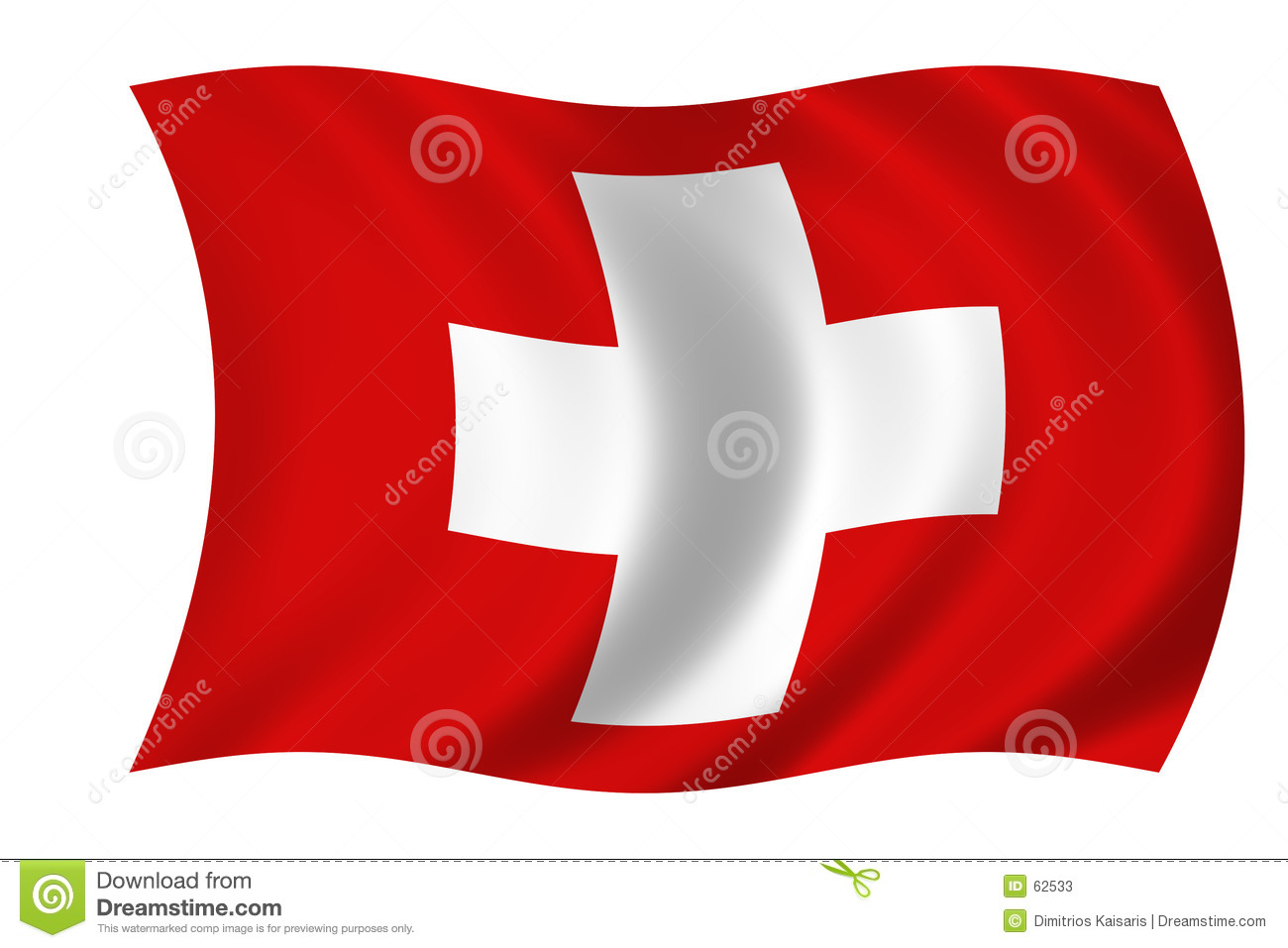 Flag Of Suisse Stock Photos.