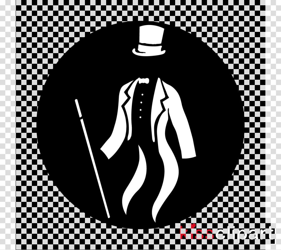 black sleeve outerwear font suit clipart.