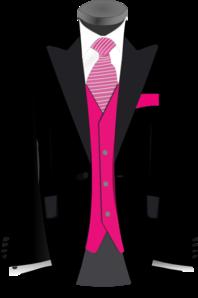 Pink Black Suit Clip Art at Clker.com.