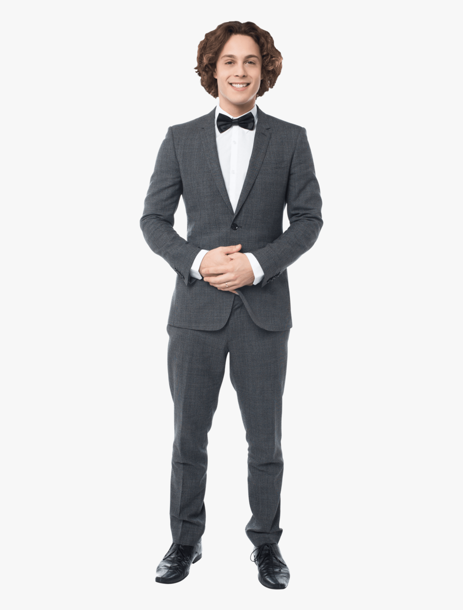 Guy In Suit Png.