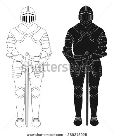 Suit Of Armour Stock Photos, Royalty.