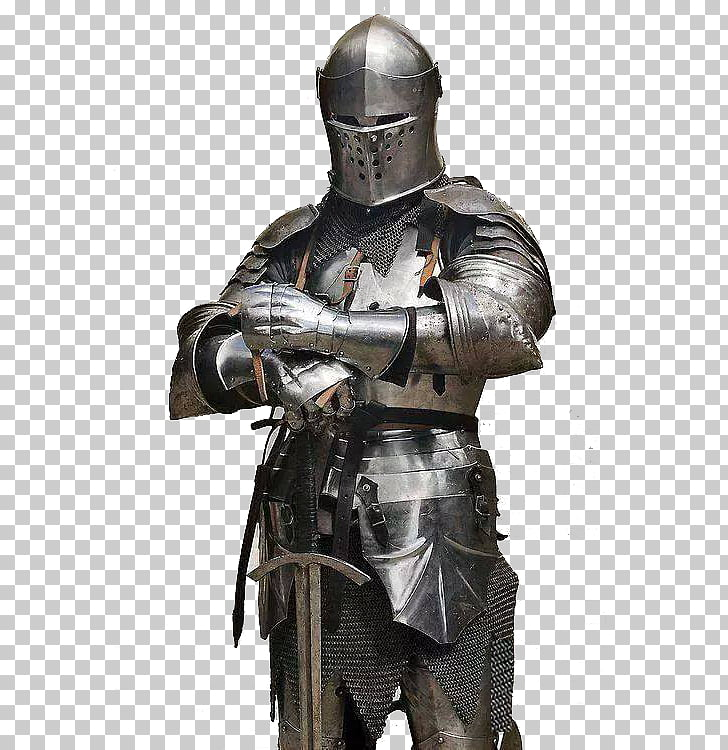 Middle Ages Knight Plate armour Components of medieval.