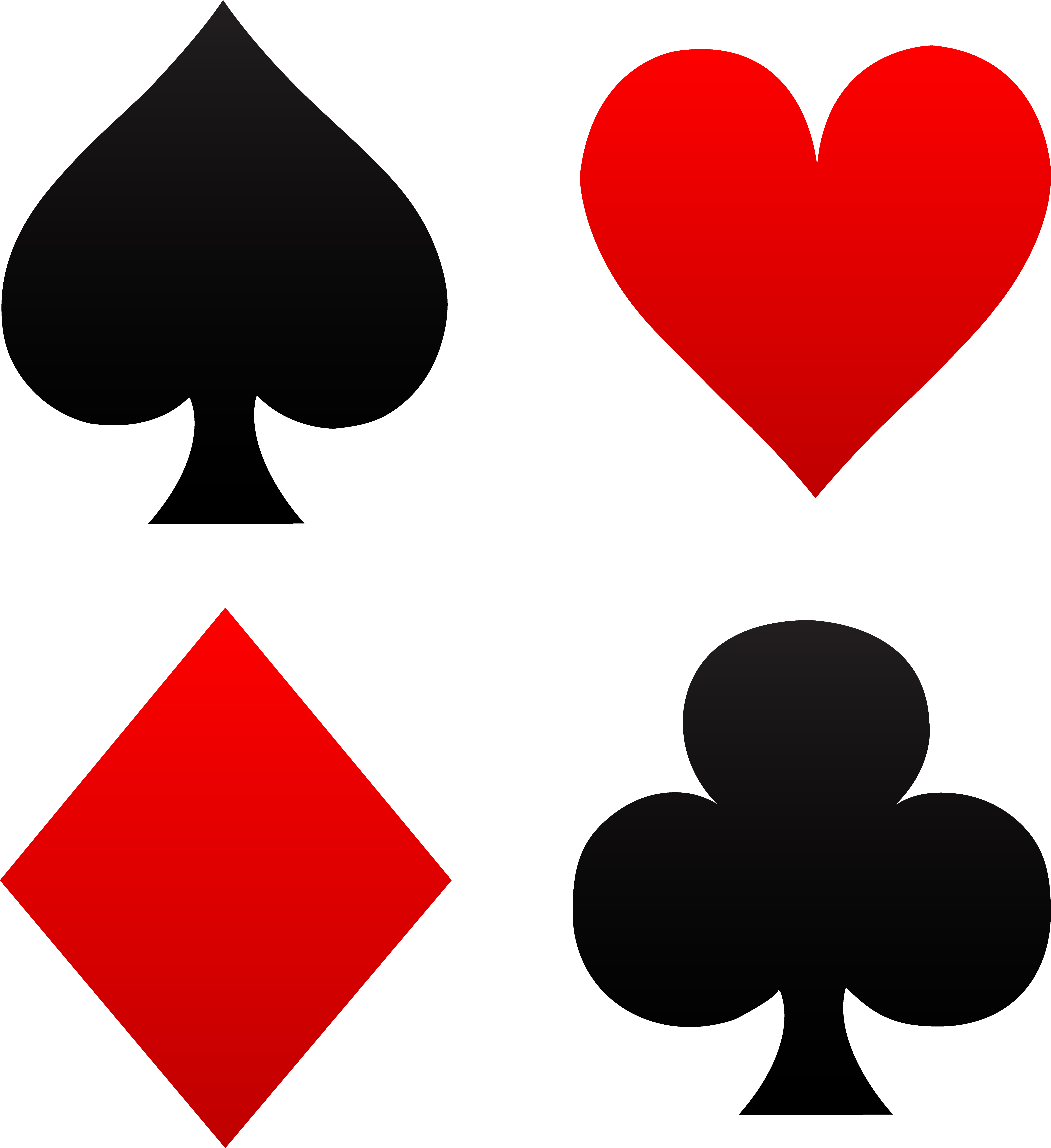 Ace of spades clipart.