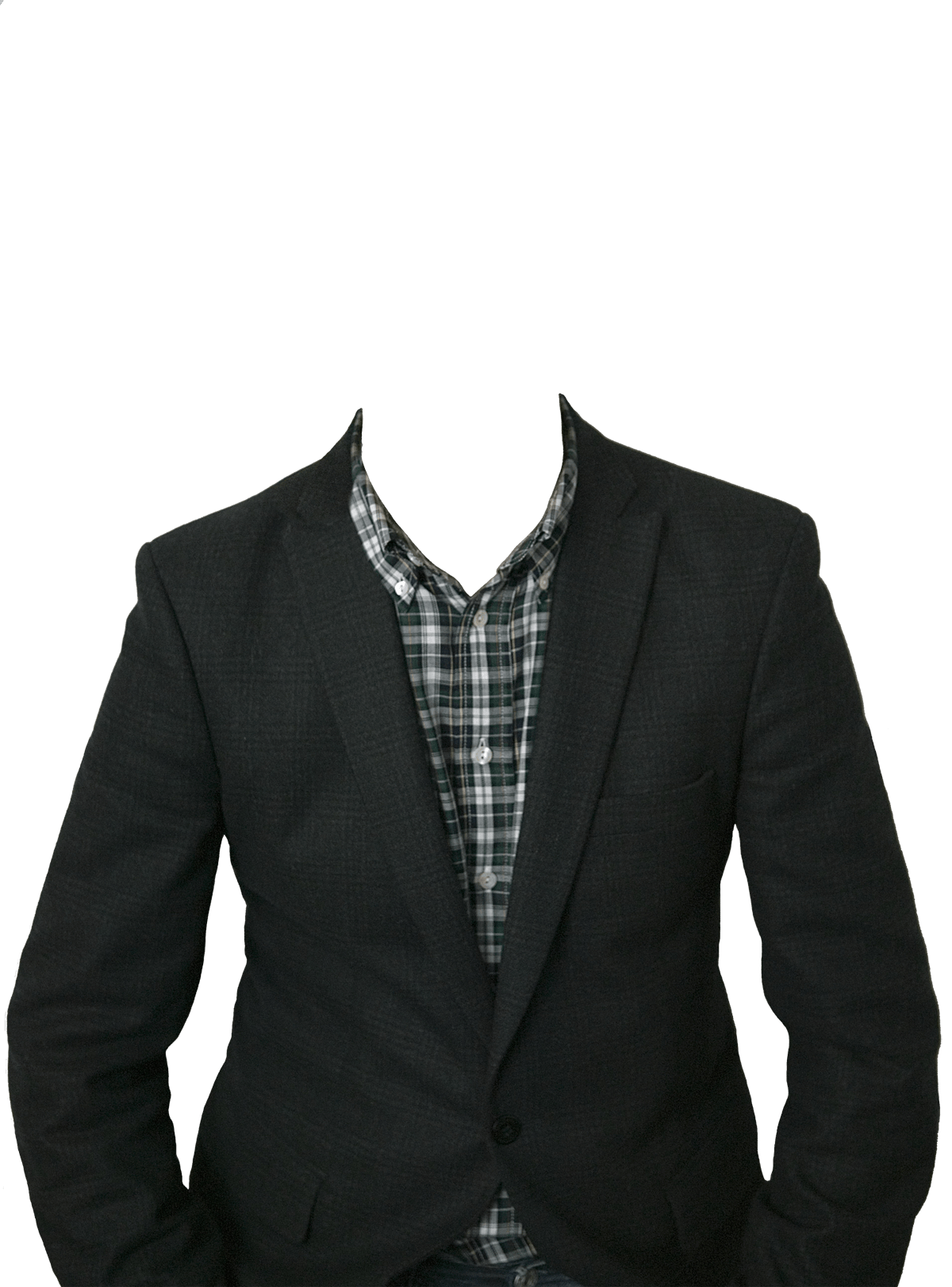 Suit No Head transparent PNG.
