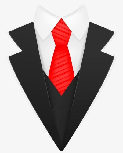 Creative Black Cloth Man Design Vector Material, Black.