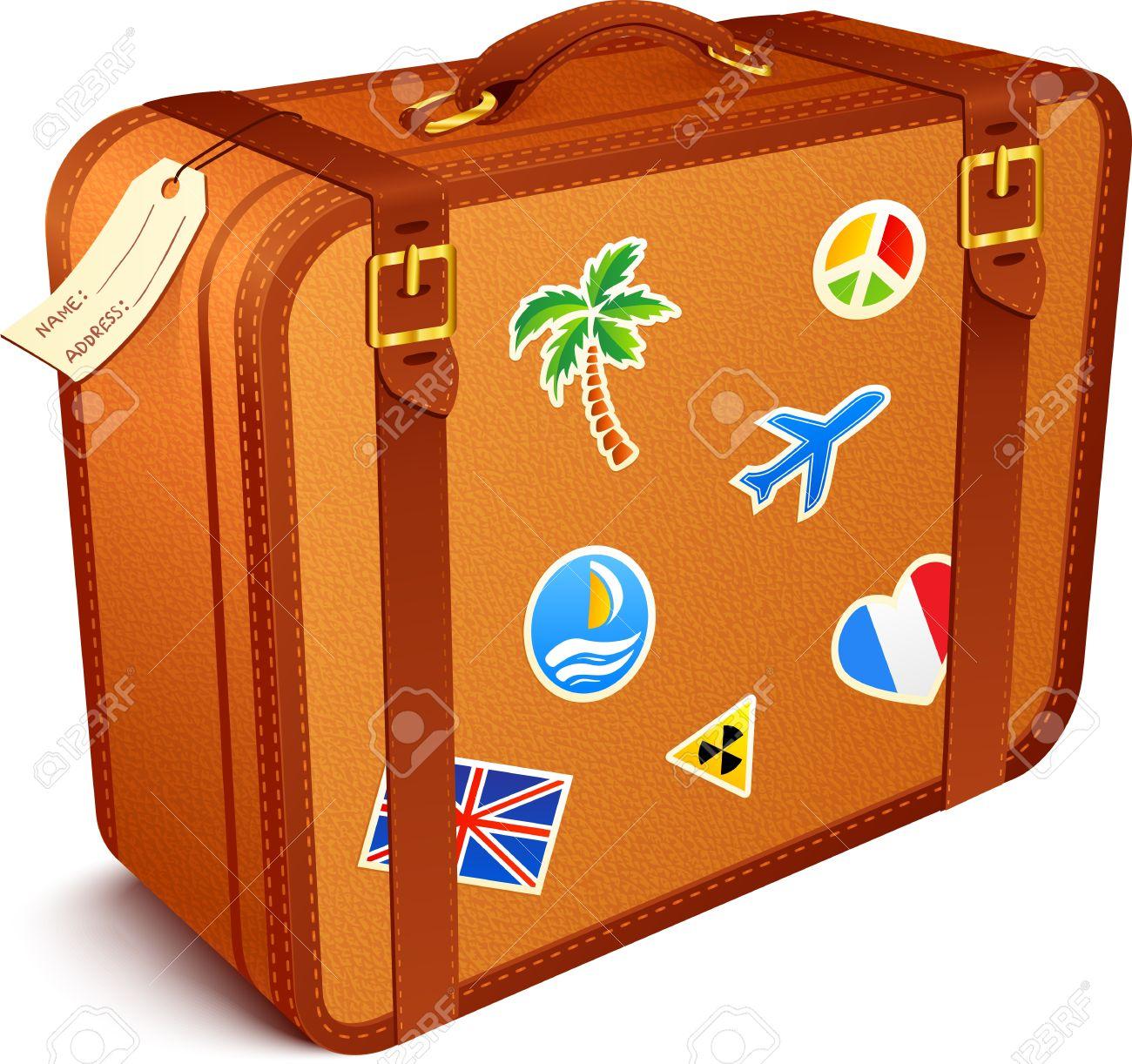 104+ Suitcase Clipart.