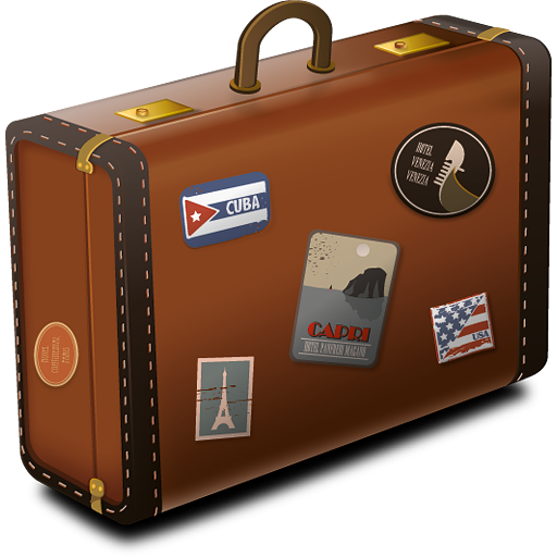 Download Suitcase PNG Images.