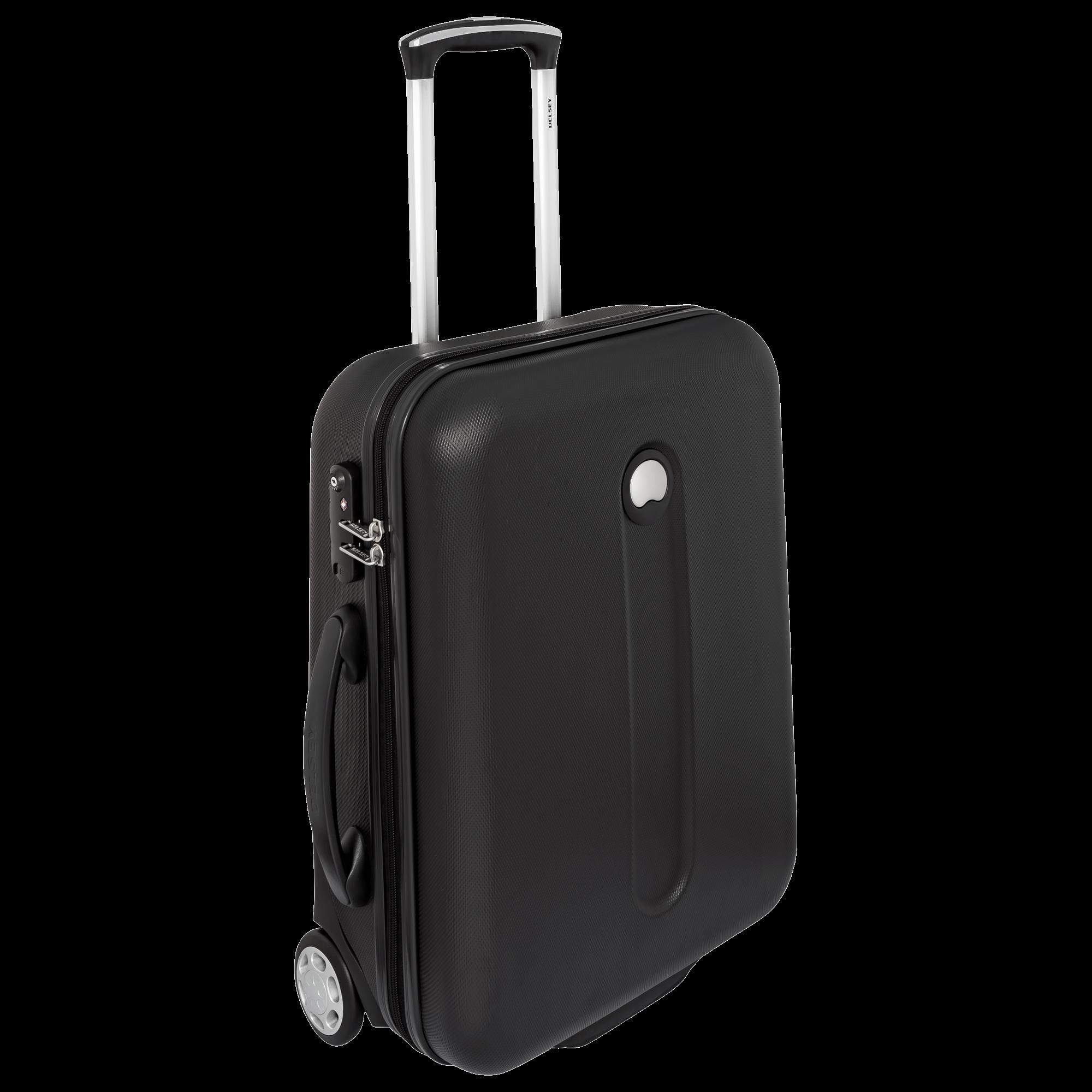 Black Luggage PNG Image.