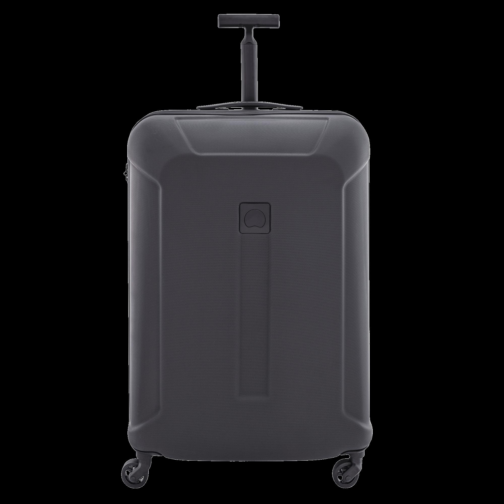 Black Suitcase PNG Image.