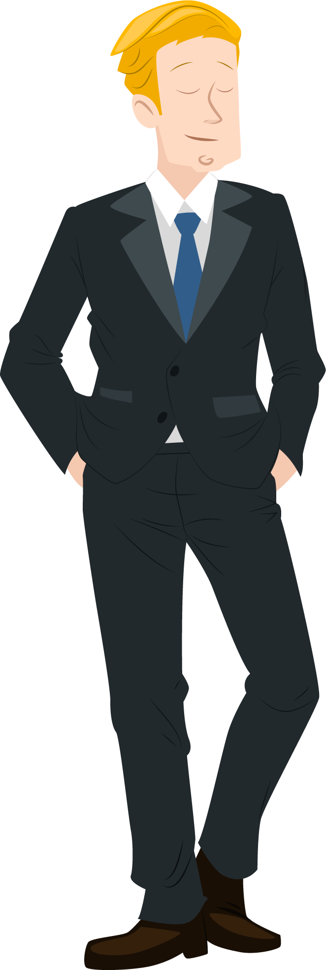 Men in suits clipart clipart images gallery for free.