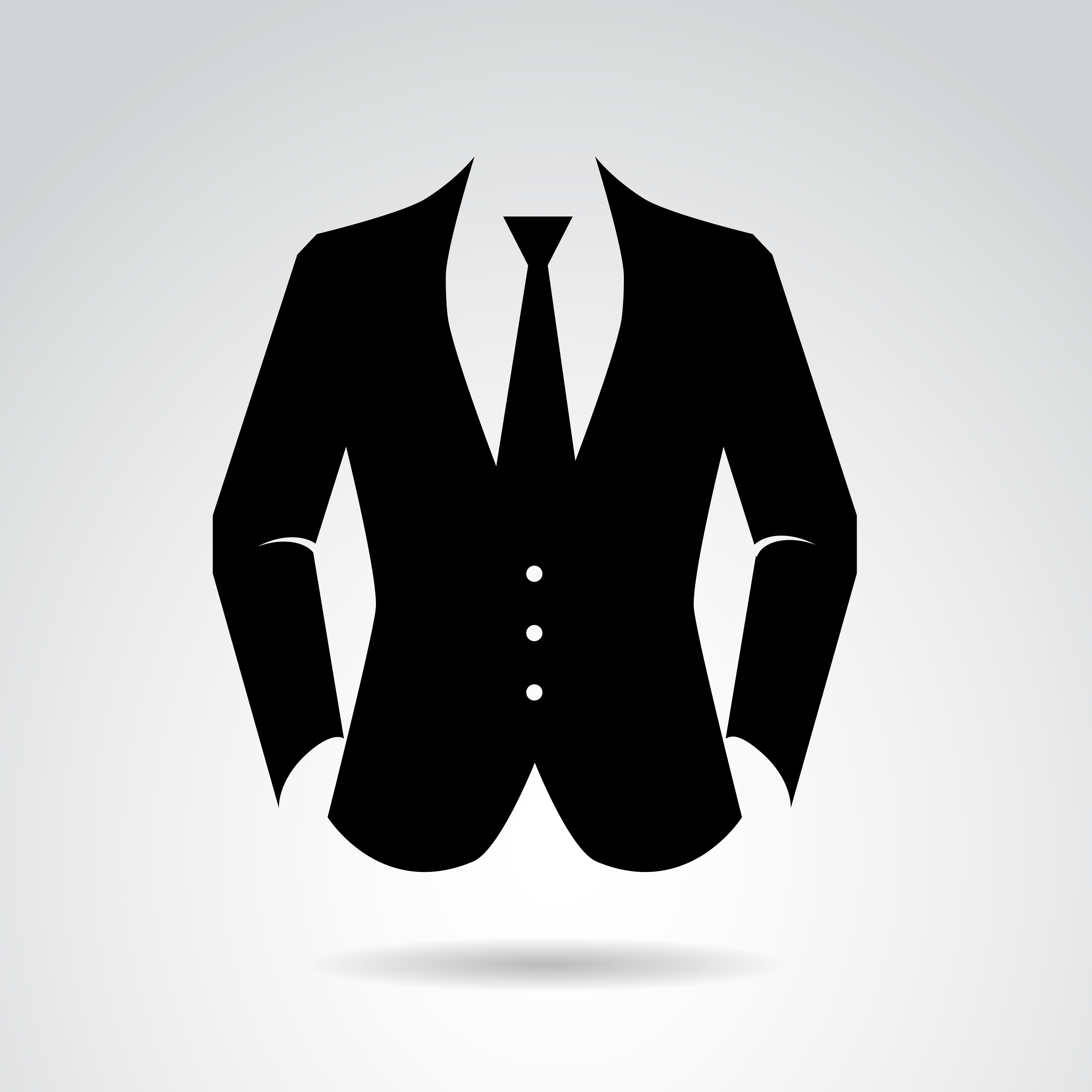 Suit Clipart attention 20.