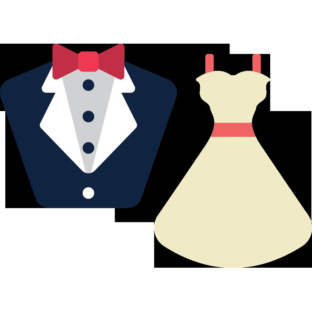 Wedding dress Suit Clip art.