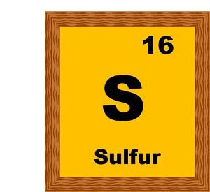 Sulfur clipart.