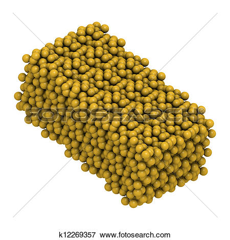 Picture of Sulfur (octasulfur, S8) crystal structure k12269357.