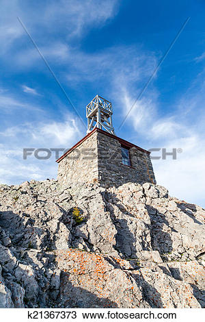 Stock Photo of Sulphur Mountain Cosmic Ray Station k21367373.