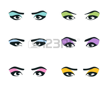 sultry eyes clipart #11