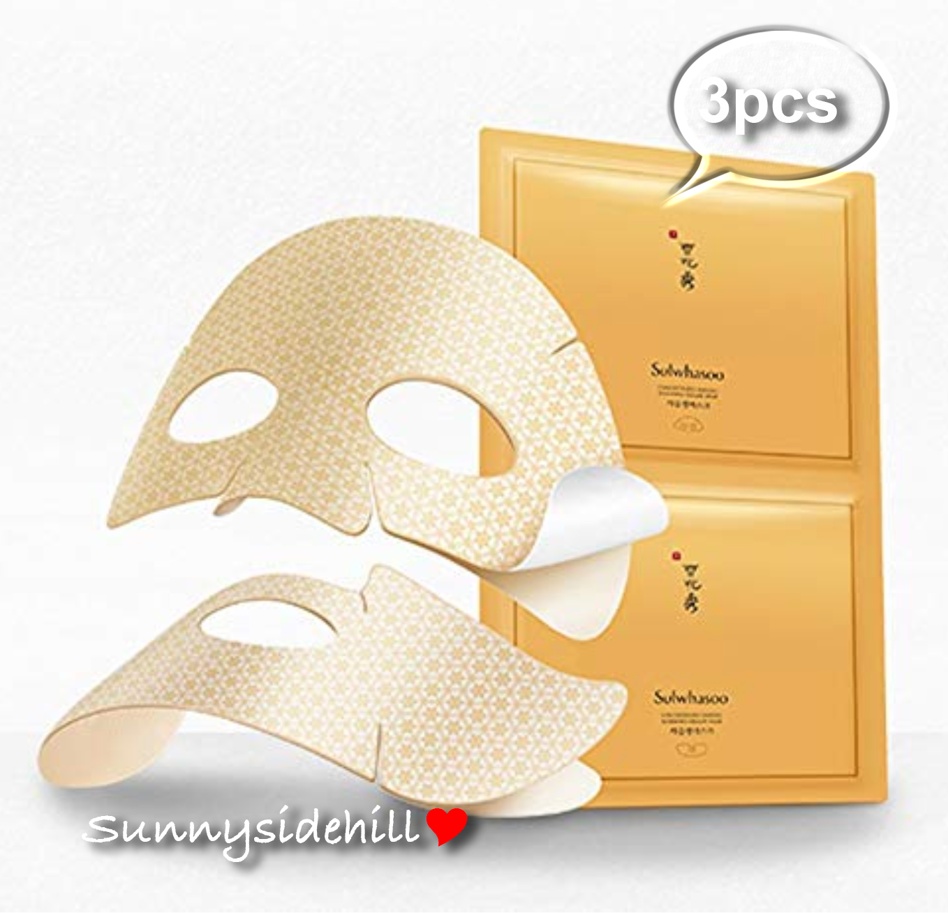 Sulwhasoo Concentrated Ginseng Renewing Creamy Mask 1pcs Korea Cosmetic.