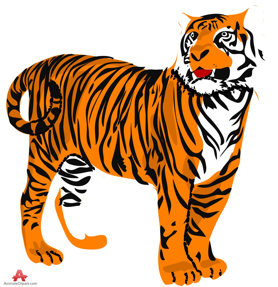 Sumatran Tiger Clipart.