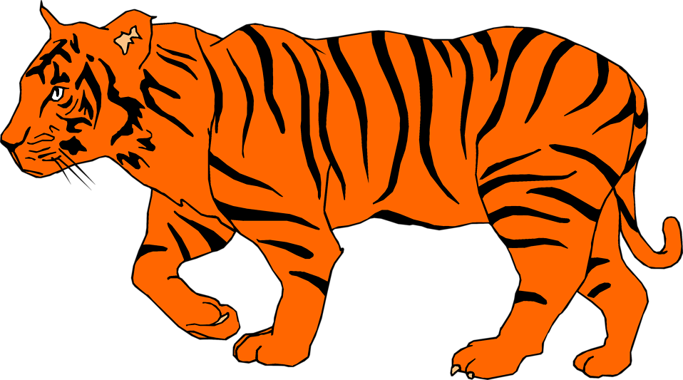 No tiger meat no glory clipart.