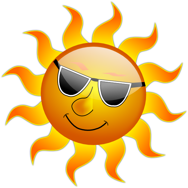 Summer Animated Clipart Smile Hi Sun.