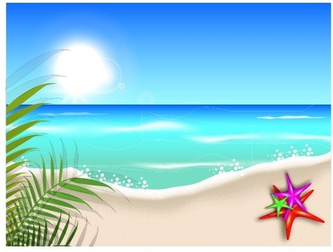 Beach background clipart free vector download (44,032 Free vector.