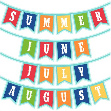 Summer Banner clipart.