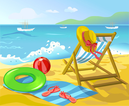 Summer beach clipart 20 free Cliparts | Download images on ...